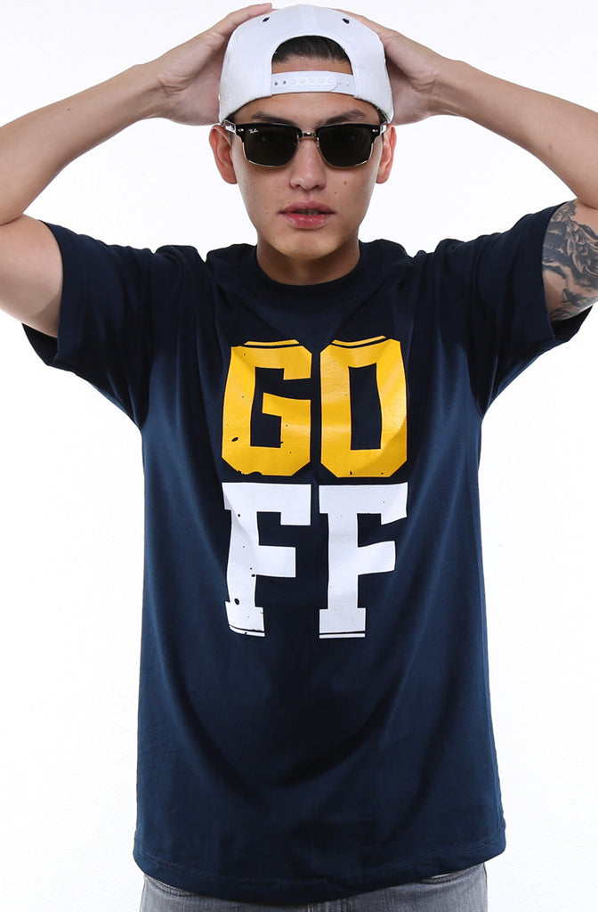GO FF (Men's Navy Tee)