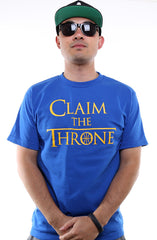 Claim The Throne (Men's Royal Tee)