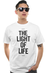 The Light of Life (Men's White Tee)