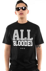 All Blooded (Men's Black/Grey Tee)