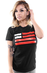 Created Equal (Women's Black Tee)