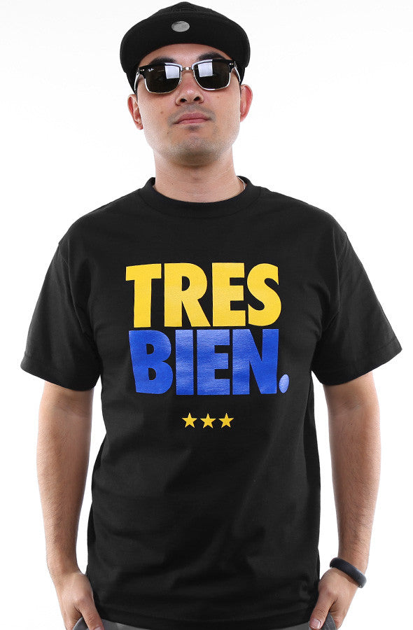 Tres Bien (Men's Black Tee)