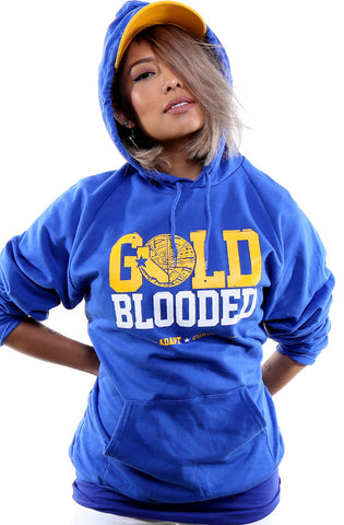Cukui x Adapt :: Gold Blooded Tribal (Women's Royal Hoody)