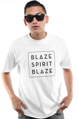 Blaze Spirit Blaze (Men's White Tee)