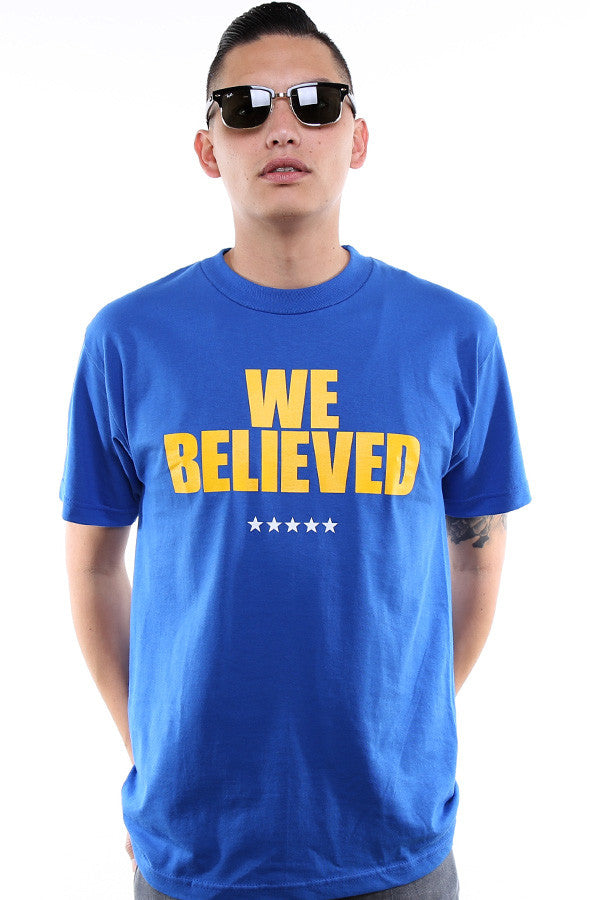 We Believed (Men's Royal Tee)