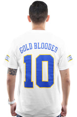 Gold Blooded Royalty :: 10 (Men's White Tee)