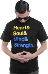 Heart & Soul (Men's Black Tee)
