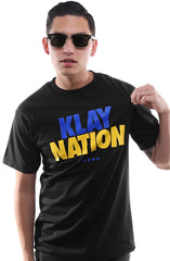 Klay Nation (Men's Black Tee)