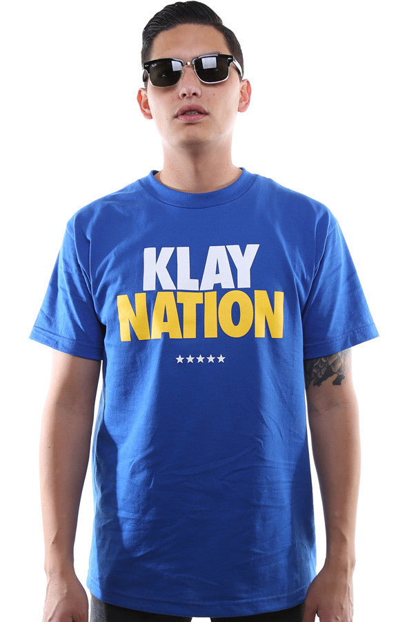 Klay Nation (Men's Royal Tee)