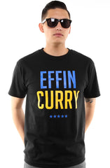 Effin Curry (Men's Black Tee)