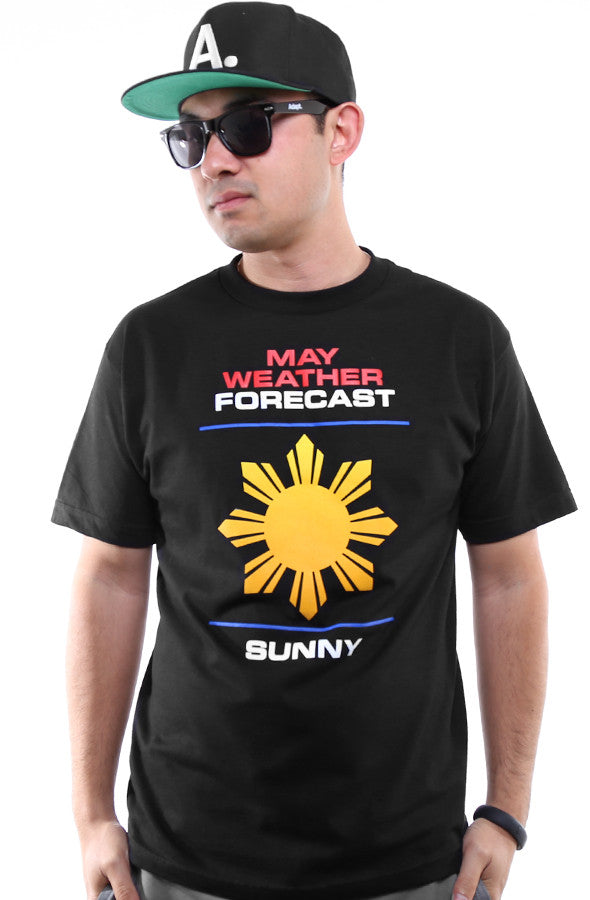 Ashley Vee x Adapt :: Weather Forecast (Men's Black Tee)