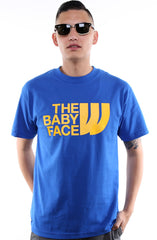 The Baby Face (Men's Royal Tee)