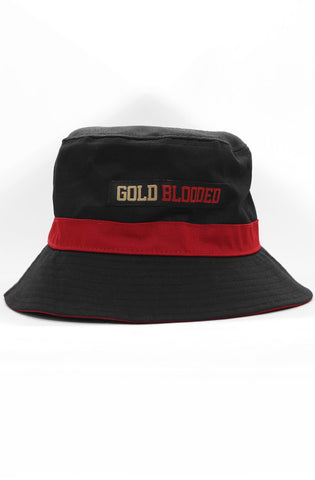 Gold Blooded (Black Bucket Hat)