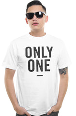 Only One (Men's White Tee)