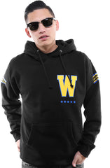 Gold Blooded Royalty :: 17 (Men's Black Hoody)