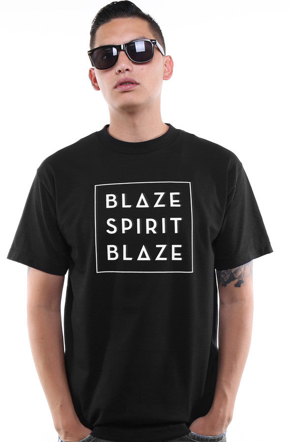 Blaze Spirit Blaze (Men's Black Tee)