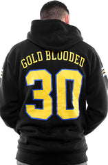 Gold Blooded Royalty :: 30 (Men's Black Hoody)