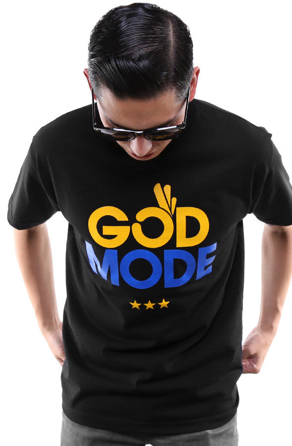 God Mode (Men's Black Tee)