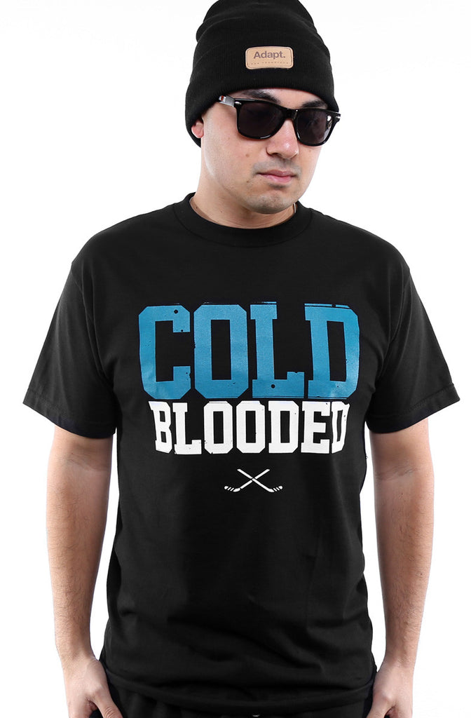 Cold Blooded II (Men's Black Tee)