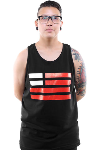 Created Equal (Men's Black Tank)