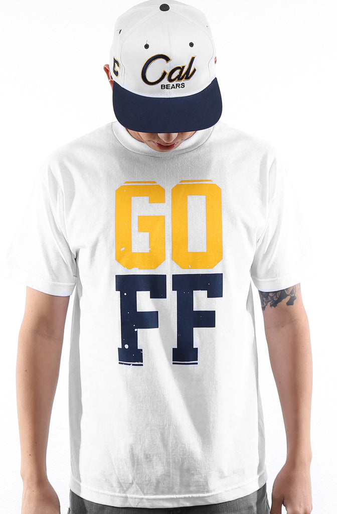 GO FF (Men's White Tee)