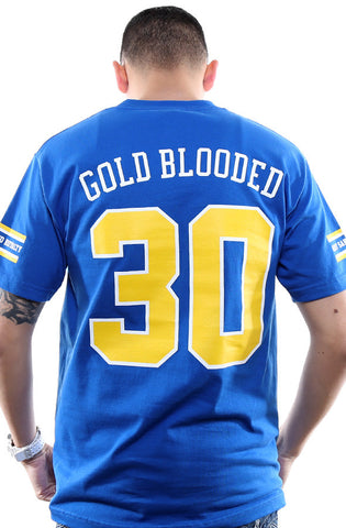 Gold Blooded Royalty :: 30 (Men's Royal Tee)