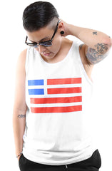 Created Equal (Men's White Tank)