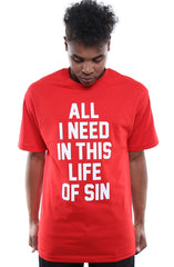 Breezy Excursion X Adapt :: All I Need (Clyde) XXOO Edition (Men's Red/White Tee)