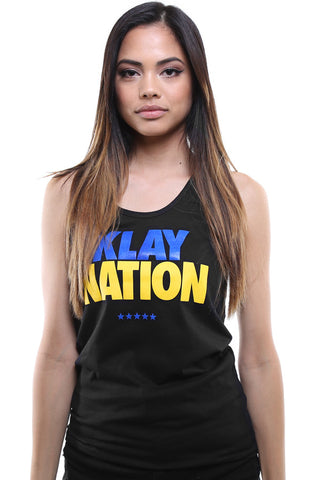 Klay Nation (Women's Black Tank Top)