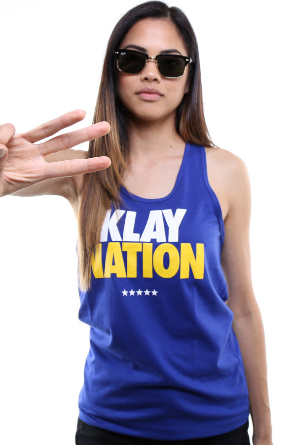 Klay Nation (Women's Royal Tank Top)