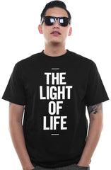 The Light of Life (Men's Black Tee)