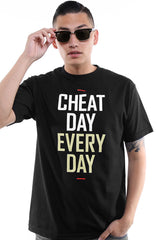 Frozen Kuhsterd x Adapt :: Cheat Day Every Day (Men's Black Tee)