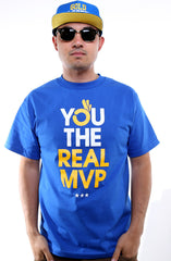 You The Real MVP (Men's Royal Tee)