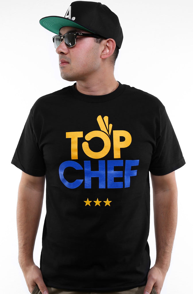 Top Chef (Men's Black Tee)