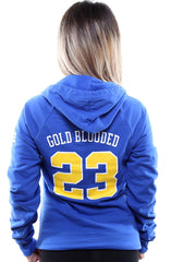 Gold Blooded Royalty :: 23 (Women's Royal Hoody)