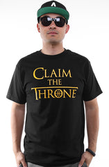 Claim The Throne (Men's Black Tee)