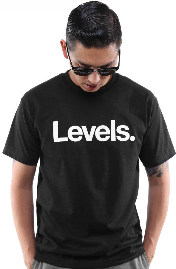 Levels (Men's Black Tee)
