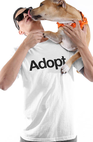 San Francisco SPCA x Adapt :: Adopt (Men's White Tee)