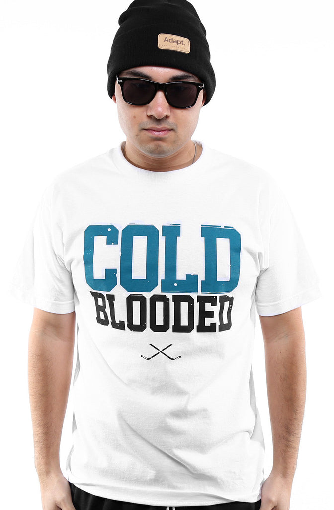 Cold Blooded II (Men's White Tee)