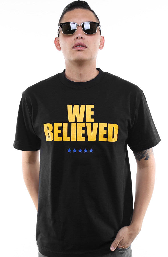 We Believed (Men's Black Tee)