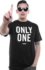 Only One (Men's Black Tee)