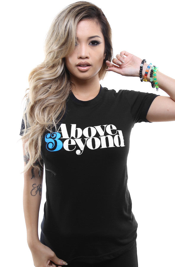 Above & Beyond (Women's Black Tee)