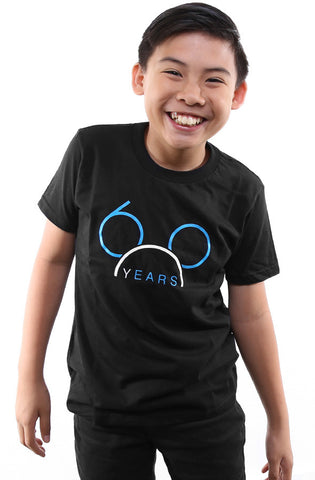 60 Years (Youth Unisex Black Tee)