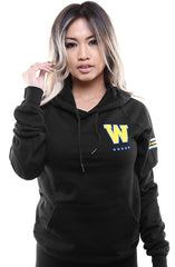 Gold Blooded Royalty :: 30 (Women's Black Hoody)
