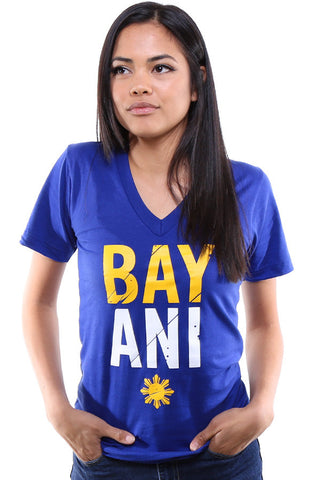 Bayani (Women's Royal V-Neck)