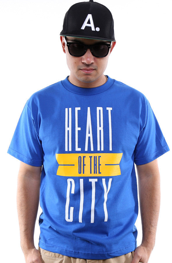 Breezy Excursion X Adapt :: Heart of the City (Men's Royal/Gold Tee)