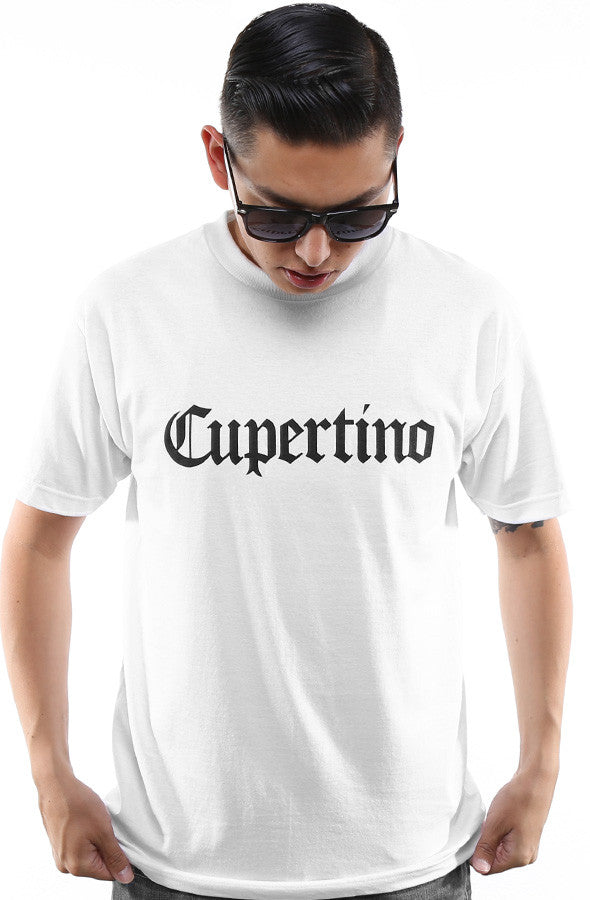 Cupertino (Men's White Tee)