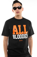 All Blooded (Men's Black/Orange Tee)