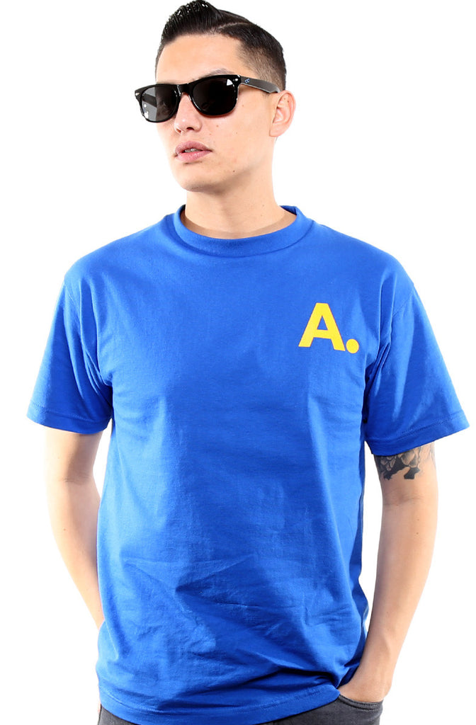 A-Type (Men's Royal/Gold Tee)