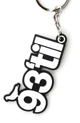 Hieroglyphics x Adapt :: 93 Til (Black/White Keychain)